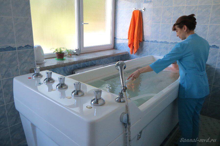 Йодобромные ванны