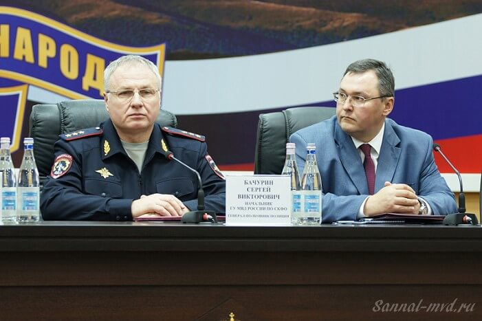 Генерал-полковник полиции Сергей Бачурин