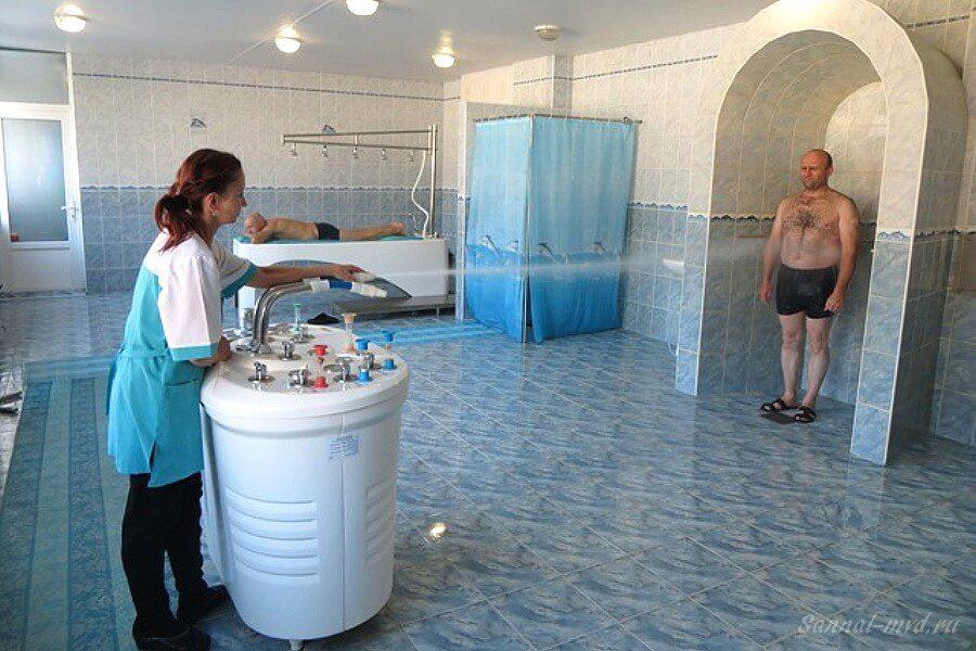 Мед. процедуры в санатории