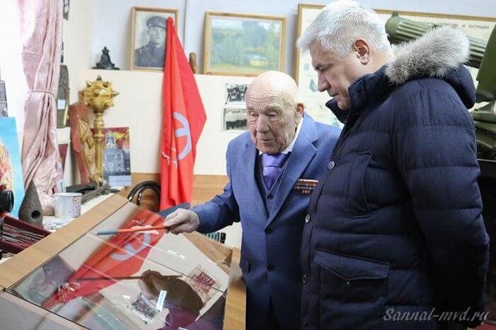 Руководитель музея МВД Пятигорска