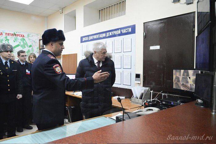 В музее МВД Пятигорска